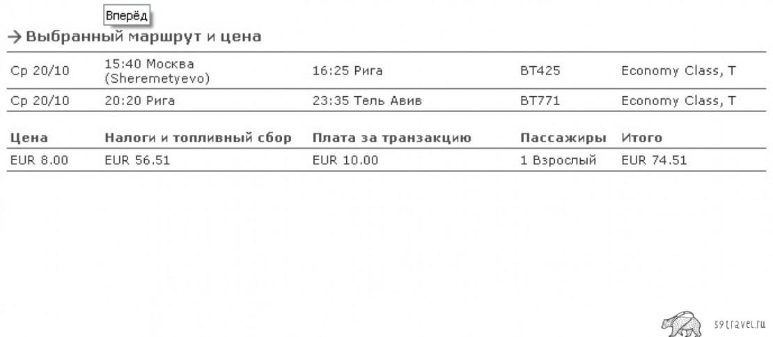 Распродажа авиабилетов у AirBaltic, билеты от 2500 рублей