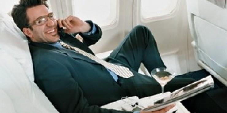 Аэрофлот и Мегафон запускают услуги сотовой связи в самолете