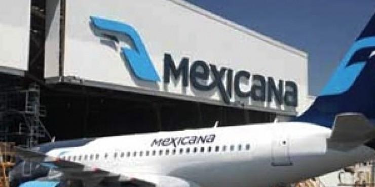 Mexicana прекратила продавать билеты на международные рейсы