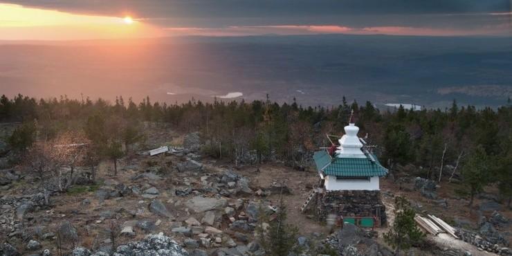 Буддийский монастырь в Уральских горах