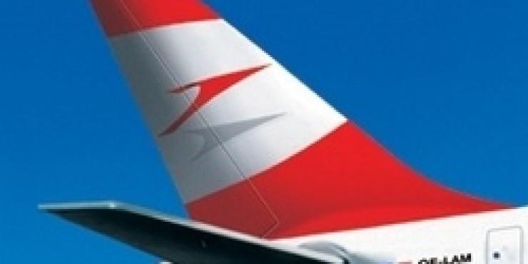 Скидка 10 процентов 10 октября на рейсы Austrian