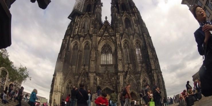 Наше знакомство с городами на Рейне