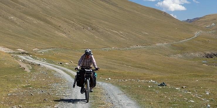 Михаил Нагайцев: Киргизия на велосипеде - первый опыт. 04.12