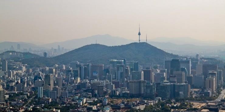 Красоты Сеула с высоты башни N