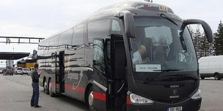 Распродажа у автобусной компании Lux Express