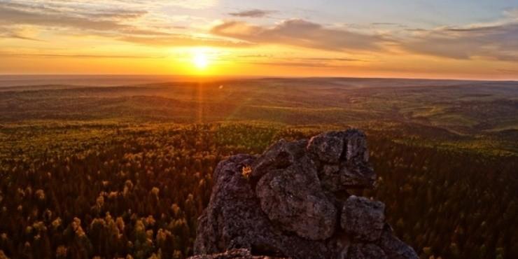 Северный Урал: район Красновишерска