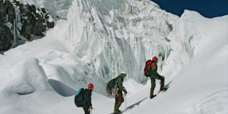 Пермские спортсмены штурмуют на лыжах Гренландию