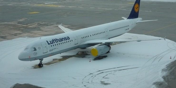 Авиакомпания Lufthansa отменила рейс Пермь - Франкфурт 26 февраля