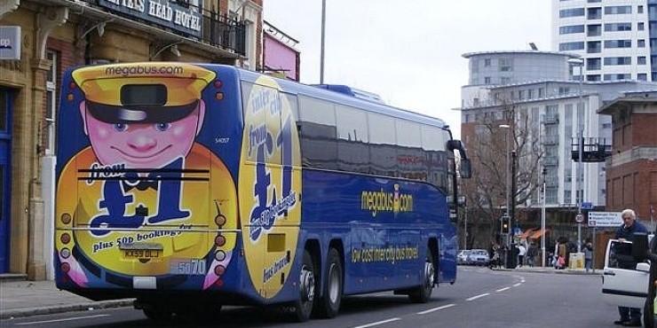 Megabus - автобусная низкобюджетная компания из Великобритании