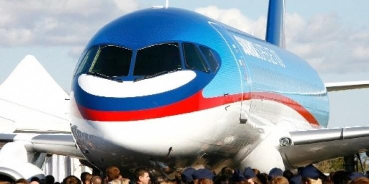 Первый полет самолета Sukhoi Superjet 100 рейсом Аэрофлота состоится 16 июня