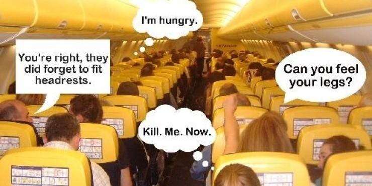 Авиакомпания Ryanair - взгляд со стороны