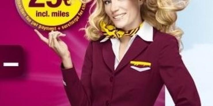Распродажа от Germanwings до 29 января