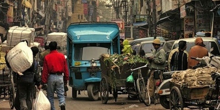Распродажа Аэрофлота в Дели