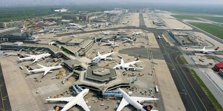 Забастовка в аэропорте Франкфурта-на-Майне