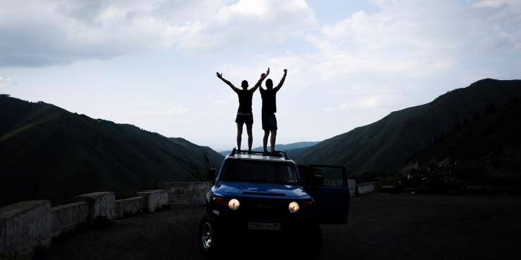 6 дней. 5 друзей. 2 палатки. 1 путешествие по Казахстану
