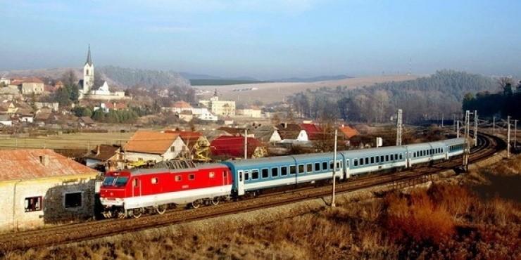 Поезда и железная дорога в Словакии