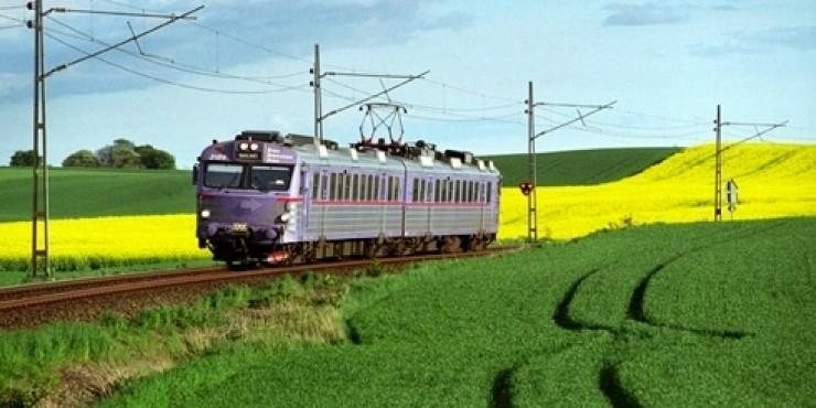 Поезда и железная дорога в Швеции