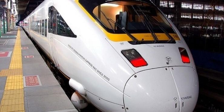 Поезда и железная дорога в Японии