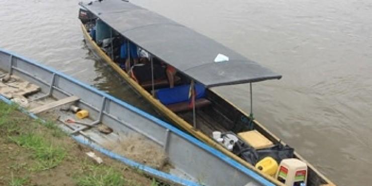 Эквадоро-перуанская граница на реке Напо