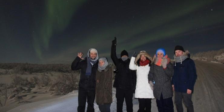 Северное сияние. Мурманск