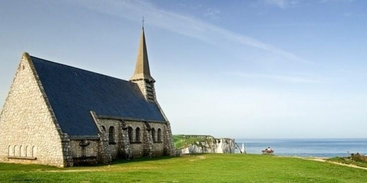 Франция. Нормандия зимой