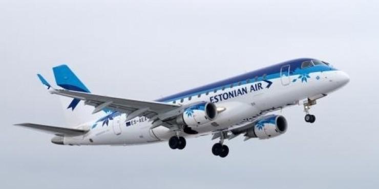 Короткая распродажа авиабилетов от Estonian Airlines